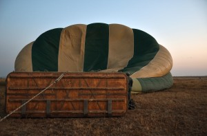 Air Balloon deflating
