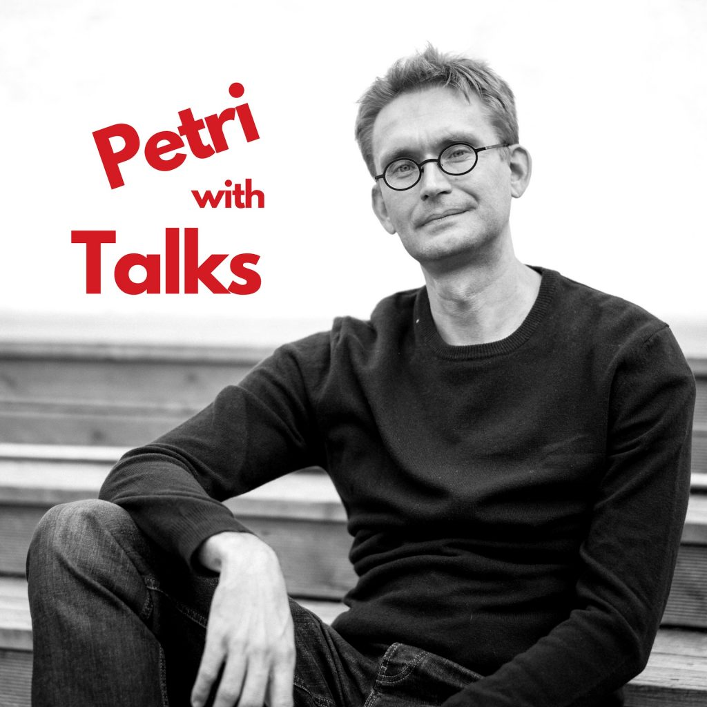 How to succeed in content marketing episode with Benji Hyam in Talks with Petri podcast
